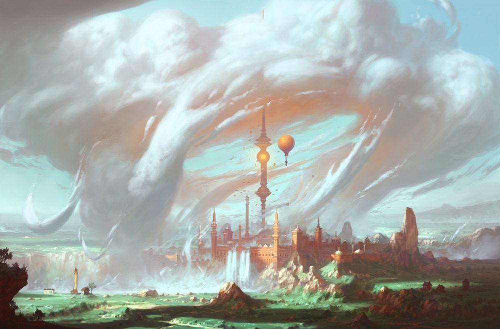 Фэнтези-пейзаж-by-YongSub-Noh