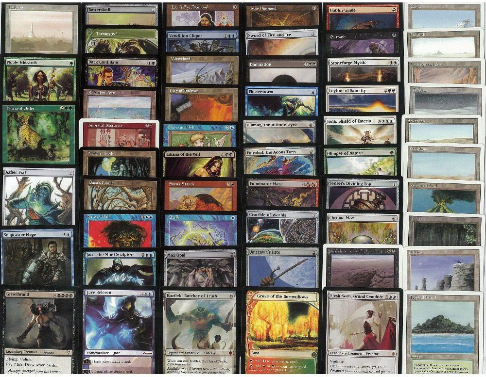 Наследие-комплект-55-шт-лот-магия-сбор-прокси-карты-Mtg-прокси-карты-Настольные-игры-прокси-карты
