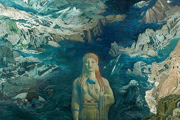 Картина Древний Ужас